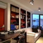 Belsőépítészeti kivitelezés, Bergmann Kft. - Loft lakás a Duna parton, galéria falfülkékkel | belsőépítész tervező, lakberendező: Flat Art 2000 Lakásművészeti Stúdió