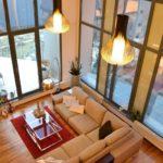 Loft jellegű lakás a Duna parton - generálkivitelezés: Bergmann Kft.