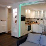 nappali és konyha-étkező kialakítás