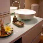 Elegáns apartman - fürdőszoba belsőépítészeti átalakítása