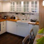 Elegáns apartman - konyha kialakítás
